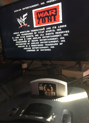 Nintendo 64 with games and controllers for Sale in Smyrna, TN