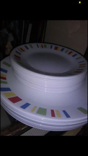 24 pieces corelle kitchen dishes $55 for Sale in Balch Springs, TX