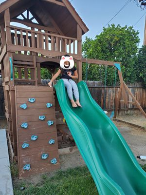 Swing set, jungle gym, playhouse for Sale in Pico Rivera, CA
