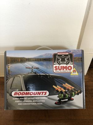 Sumo Rodmounts magnetic fishing rod mounts, brand new for Sale in Seattle, WA