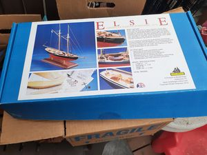 Brand new model wood ship boat with vise for Sale in Tacoma, WA