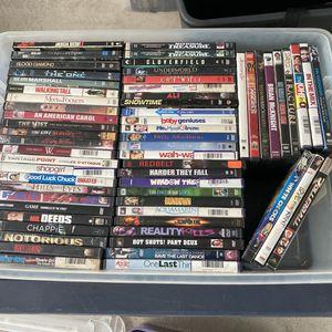 100 Plus DVD Lot for Sale in San Fernando, CA