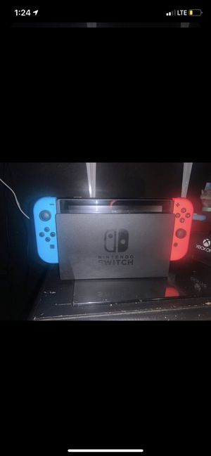 Nintendo Switch Neon Blue & Red for Sale in Long Beach, CA