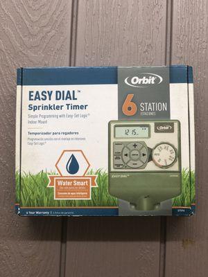6 station sprinkler system for Sale in Arlington, TX