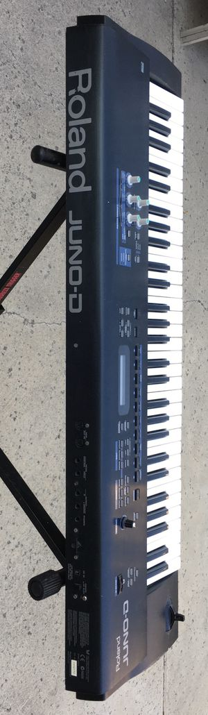 Roland JUNO-D Limited Edition 61 key Keyboard Synthesizer & Stand for Sale in Buena Park, CA
