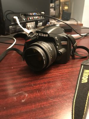 Nikon D3200 digital camera dslr for Sale in Philadelphia, PA
