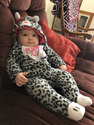 Baby leopard costume 12 months for Sale in Prosperity, SC