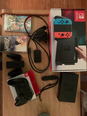 Nintendo switch/brand new great condition!!! for Sale in Gassaway, WV
