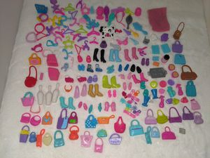 Polly pocket doll shoes and accessories for Sale in Tacoma, WA