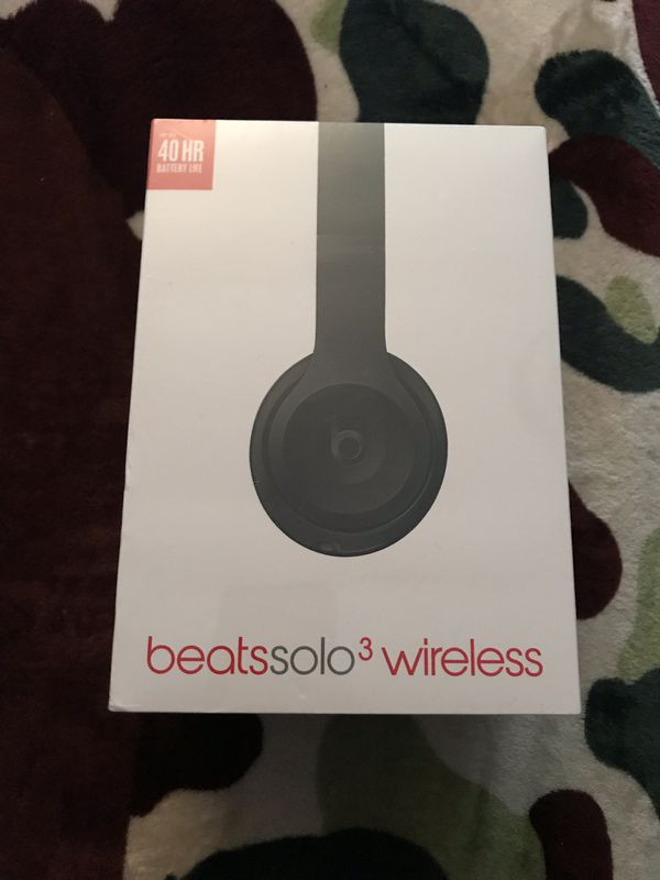Beats by Dre Solo 3 wireless headphones trade for Nintendo switch ... 0599ac63c
