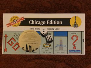 Monopoly Chicago Edition for Sale in Chicago, IL