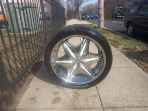 24in Rims and tires for Sale in Fort Washington, MD