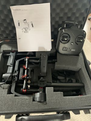 DJI Ronin M with case, battery and remote for Sale in Chicago, IL