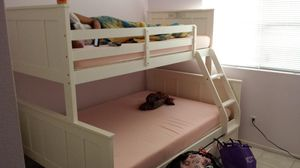 Bunk bed with trundle for Sale in Lancaster, CA