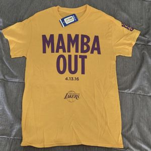 """Kobe Bryant Final Game """"Mamba Out"""" Limited Edition Shirt Sz Small Never Worn for Sale in Huntington Beach, CA"""