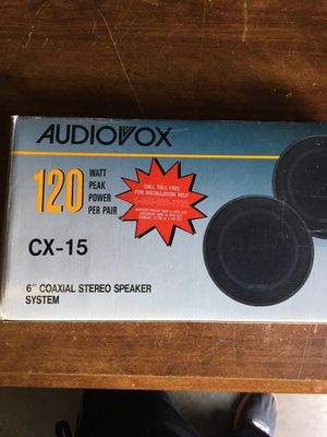 Coaxial stereo speaker system for Sale in Sterling, VA