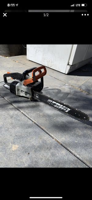 Echo chainsaw chain saw for Sale in Highland, CA