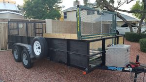 16' Compacter,Dump, TOY hauler,Car hauler for Sale in Glendale, AZ