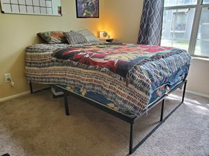 Full Size Bed, Mattress and Frame for Sale in Midvale, UT