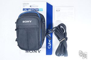 NEW Sony - LCS-CSJ - Soft Carrying Case for Sony DSC-S/W/T/N Series Cameras BLK for Sale in Rancho Cucamonga, CA