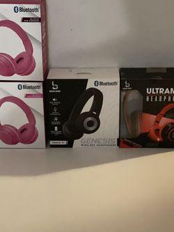 Headphones Con Bluetooth $20 Cada Uno for Sale in Santa Ana,  CA