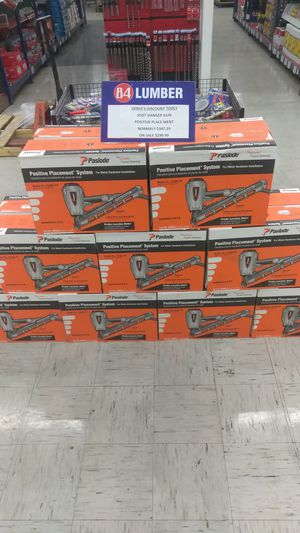 In store-Nail Gun Special- PASLOAD-$300.00 for Sale in Las Vegas, NV