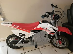 Razor sx500 McGrath dirt bike like new for Sale in Tampa, FL