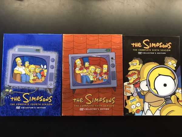 DVD's: First 9 seasons of The Simpsons!