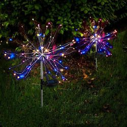 Solar Firework Lights 40 Copper Wires 120 Multi Color LED for Sale in Whittier,  CA