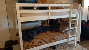 Bunk bed with mattresses for Sale in NJ, US