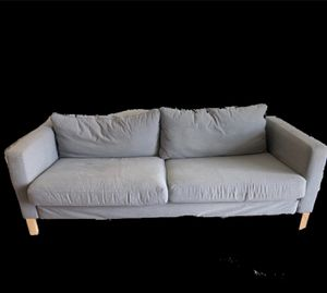 Needs to go by mar 30- ikea karlstad sofa for Sale in Randolph, MA