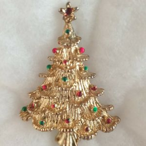 Christmas Tree Brooch Pin for Sale in Windermere, FL