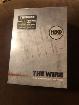 The Wire : The Complete Serious - DVD 23-Disc Set for Sale in Brooklyn, NY