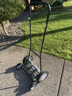 """NEW Earthwise 16"""" Push Lawn Mower - manual mowers - lawn mowers for Sale in Vancouver, WA"""