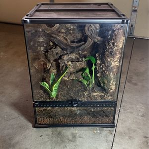Exo-Terra Natural Terrarium Reptile Habitat for Sale in Riverside, CA