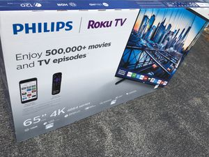 Philips tv for sale 65 inches for Sale in Adelphi, MD