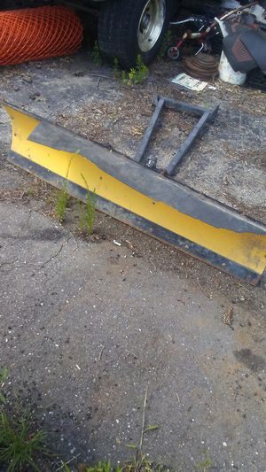 Tractor or quad Plow Blade for Sale in Madison Heights, MI