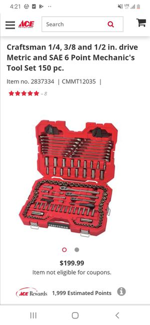 Brand new never used Craftsman 150 piece Tool set . for Sale in St. Louis, MO