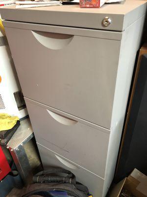3 drawer filing cabinet for Sale in Salt Lake City, UT