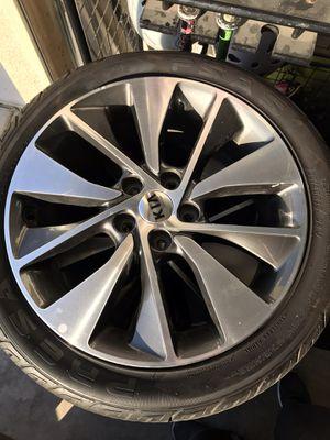 """2016 Kia Optima turbo wheel 18"""" 235/45r18 for Sale in North Highlands, CA"""