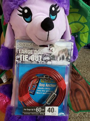 Large DOG Tie-Out 40ft for Sale in Arvada, CO