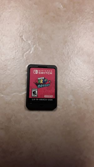 Super Mario Odyssey for Nintendo Switch for Sale in Bakersfield, CA