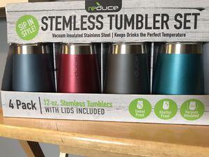 Reduce Stemless Tumbler Set of 4 for Sale in Arlington, VA