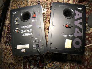 M-AUDII AV 40 Stereo pair for Sale in San Francisco, CA