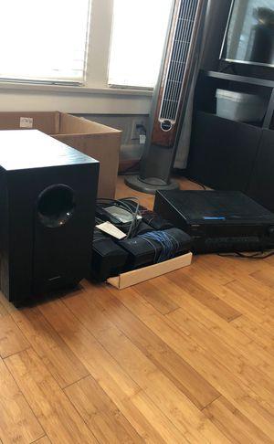 Onkyo 6-speaker surround sound system for Sale in San Diego, CA