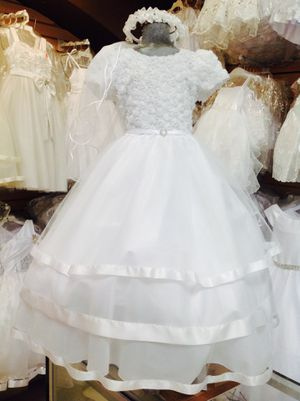 Isela's First Communion, Baptism , Formal Dresses and Accessories INSIDE OXFORD BAZAR, 635 Oxford St. Chula Vista Ca., 91911. OPEN DAILY for Sale in Chula Vista, CA