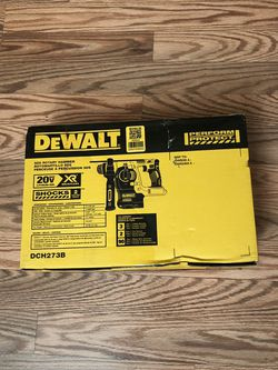 DeWalt 20-Volt MAX XR Cordless Brushless 1 in. SDS Plus L-Shape Rotary Hammer (Tool-Only) for Sale in Happy Valley,  OR