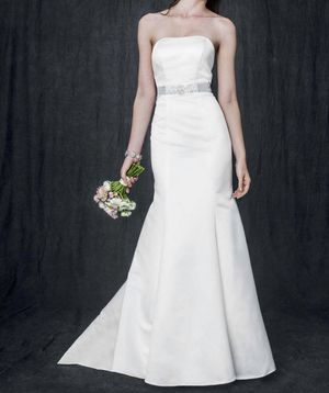 David's bridal wedding dress (color champagne) size 13 for Sale in TWN N CNTRY, FL