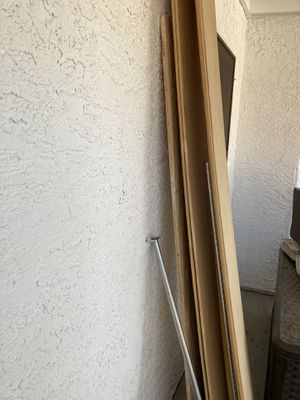 Wood for shelving/ closet rods for Sale in Henderson, NV
