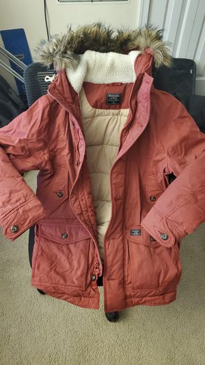 Abercrombie and Fitch winter parka for Sale in Huntingdon Valley, PA